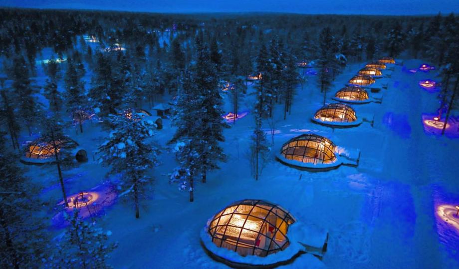 12 отелей «на краю света»