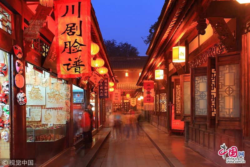 Чэнду стал самым популярным направлением для туристов во время праздника Цинмин