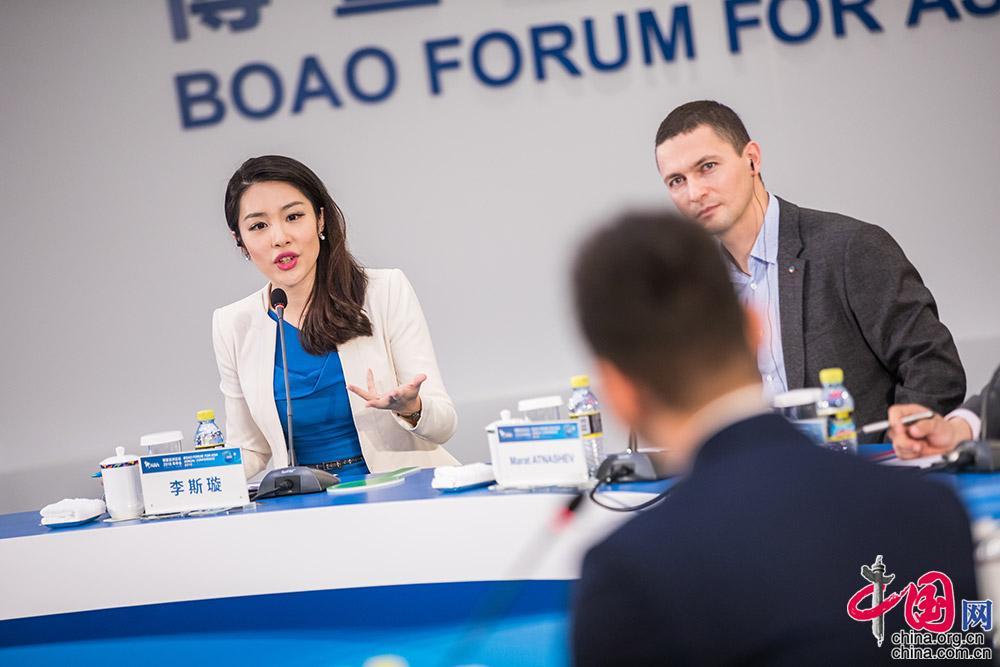 青年领袖参与博鳌亚洲论坛圆桌讨论