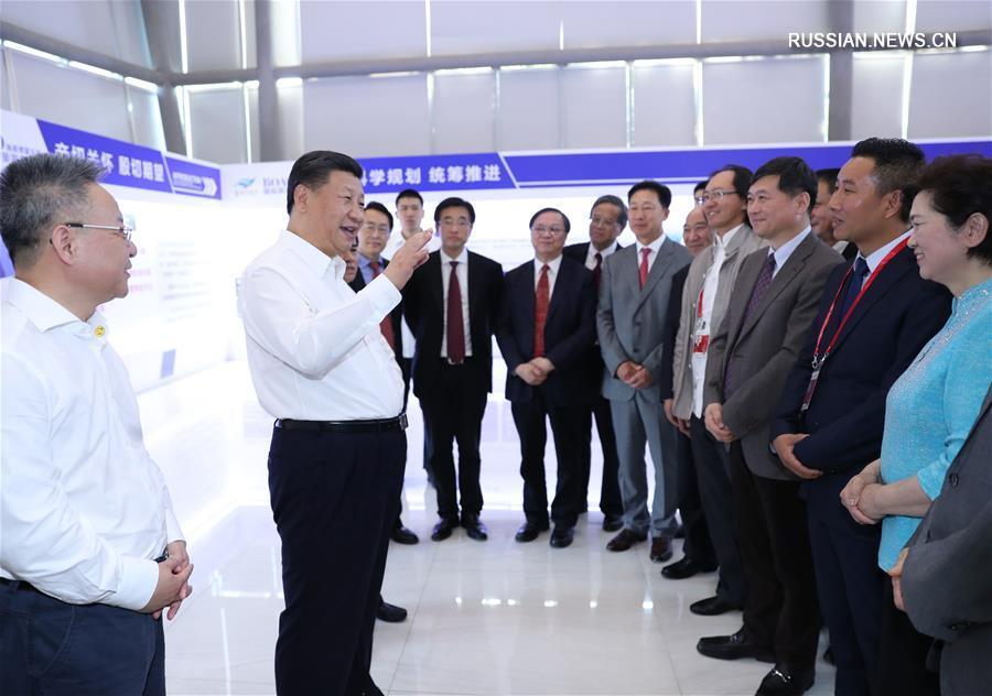 Си Цзиньпин проинспектировал Лэчэнскую передовую зону международного медицинского туризма в Боао