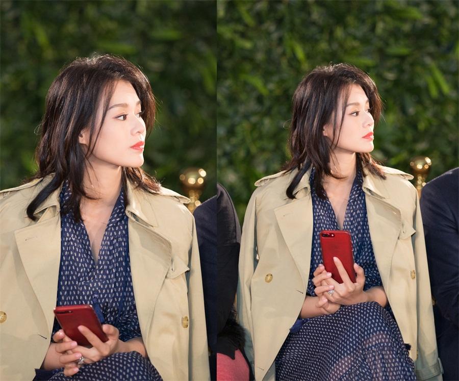Телезвезда Миоли Ву приняла участие в модном мероприятии