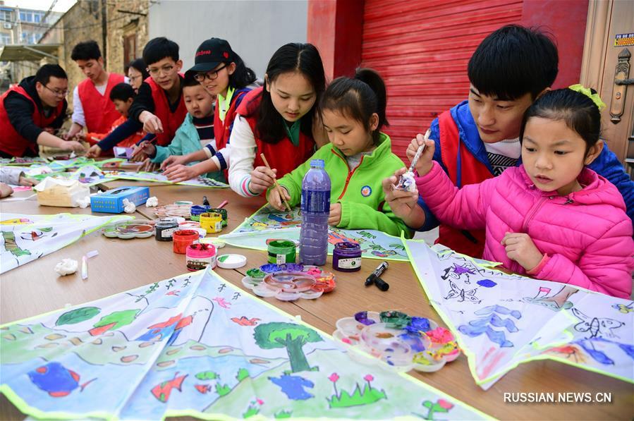Жители Китая наслаждаются весной
