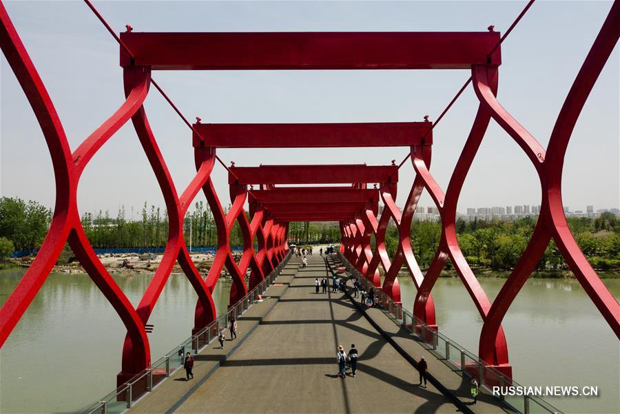 Неприглядные сельские кварталы Янчжоу превратились в цветущий ландшафтный парк