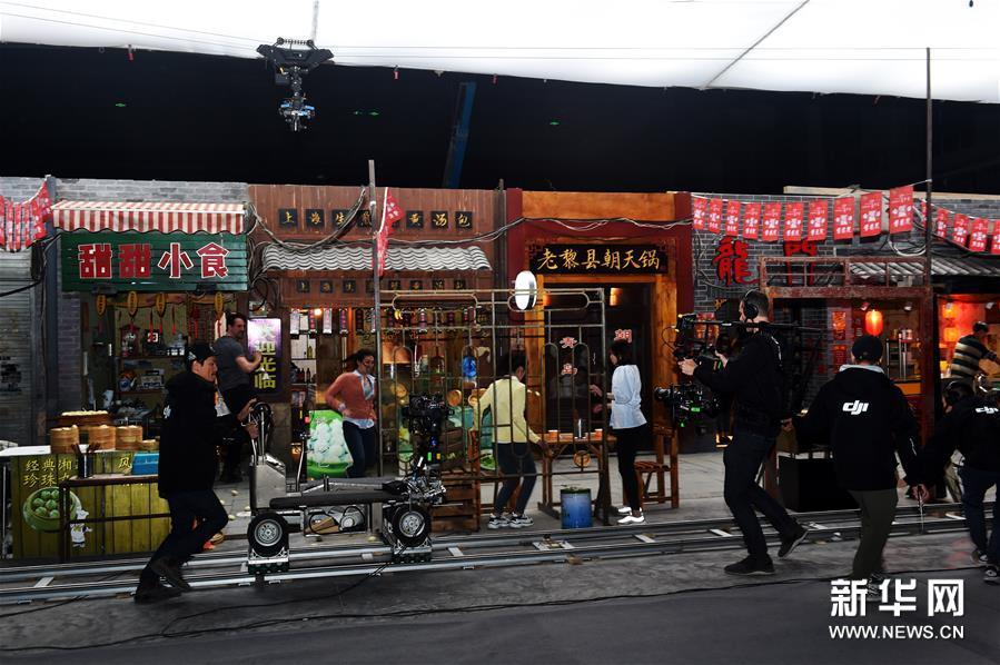 Завершилось строительство Восточного киногородка в Циндао