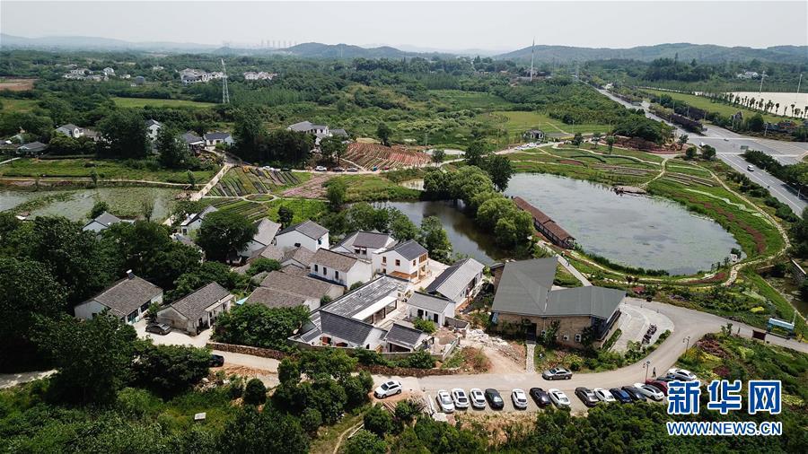 Особая деревня Гуаньиньдянь в провинции Цзянсу