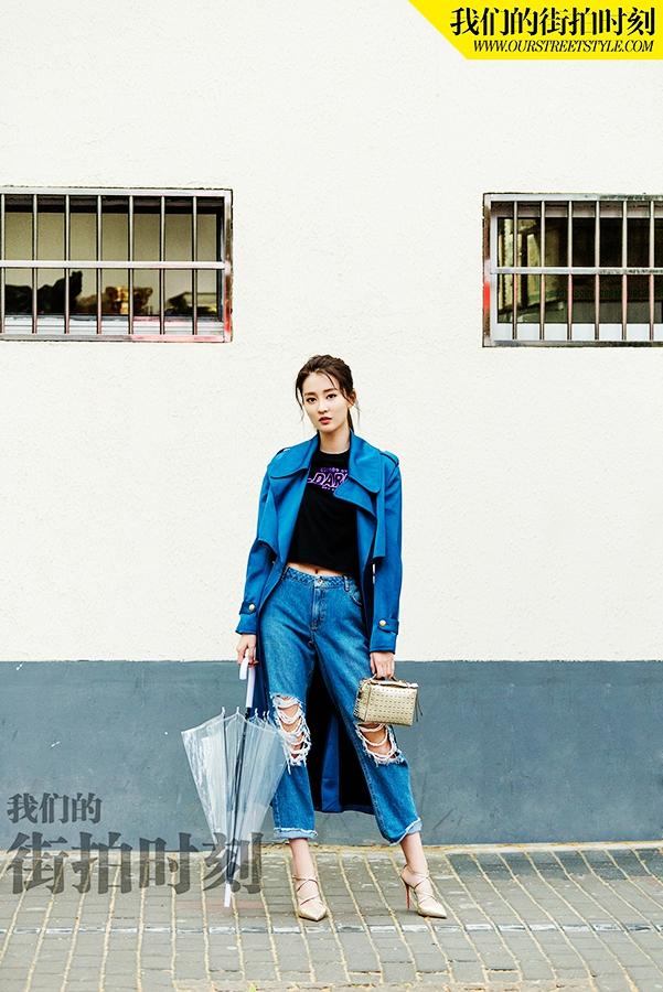 Восходящая актриса Цяо Синь