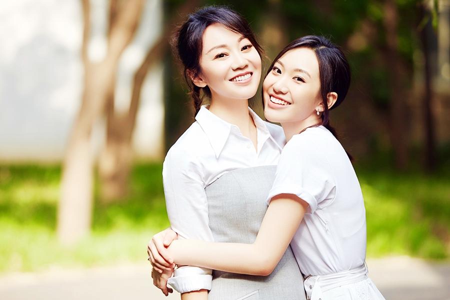 Телезвезда Янь Ни со своей актрисой-дочкой