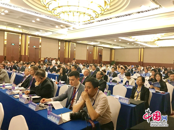 В Пекине началась Международная конференция(2018)на тему «Китай и Россия: Сотрудничество в новую эпоху»