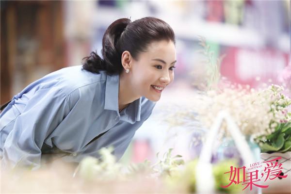 Красавица Чжан Бочжи в телесериале «Любовь не будет ждать»