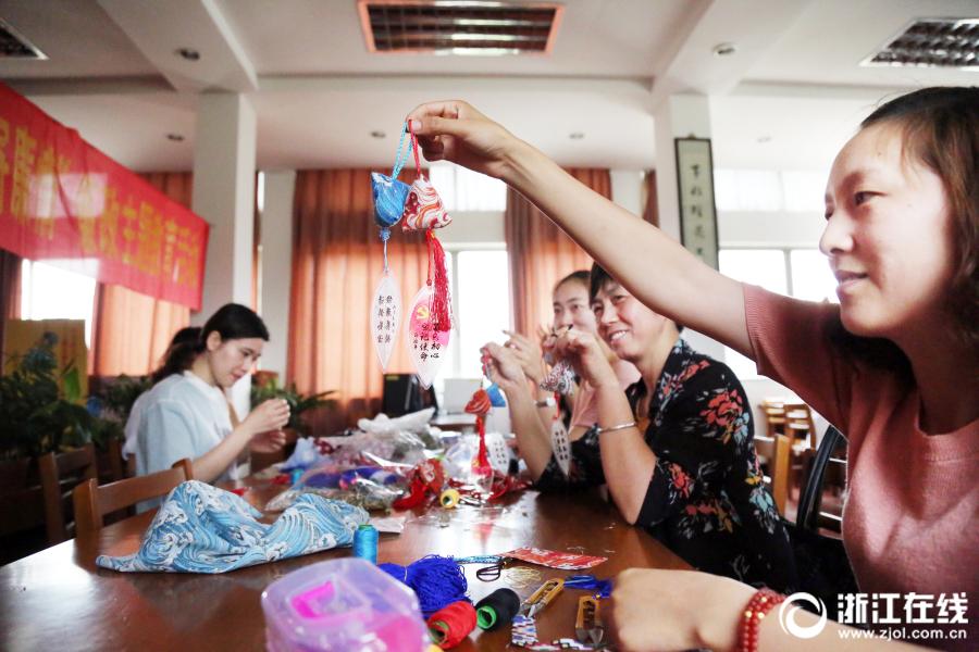 Ароматные мешочки со знаком честного правительства в преддверии праздника Дуаньу