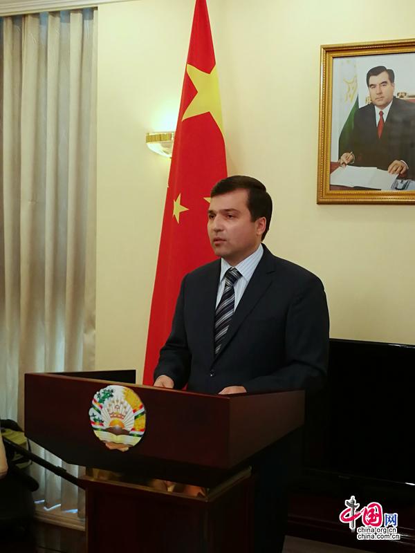 Посол Таджикистана в Китае высоко оценивает сотрудничество между Таджикистаном и Китаем в рамках ШОС