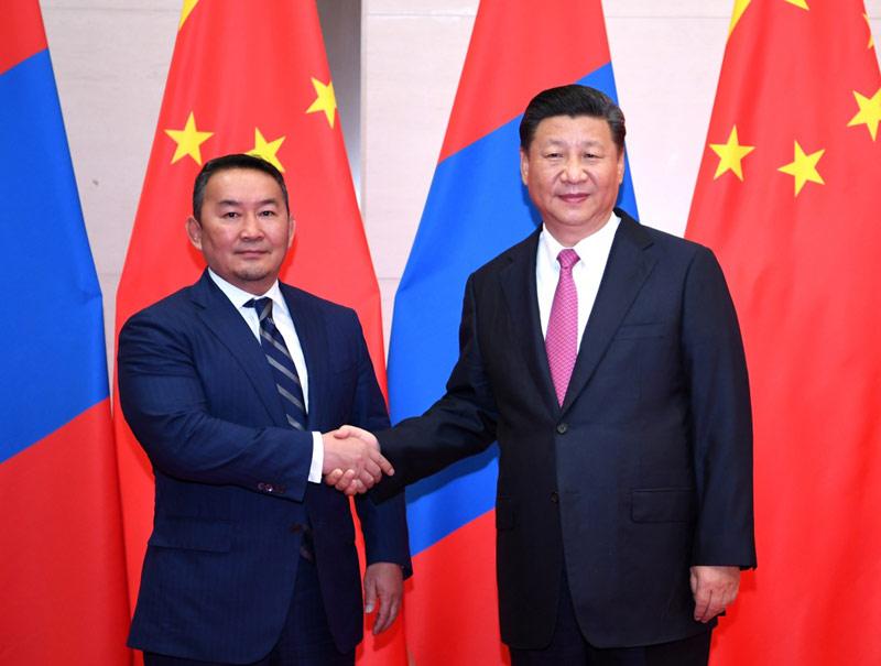 Си Цзиньпин: развитие китайско-монгольских отношений отвечает коренным интересам народов двух стран