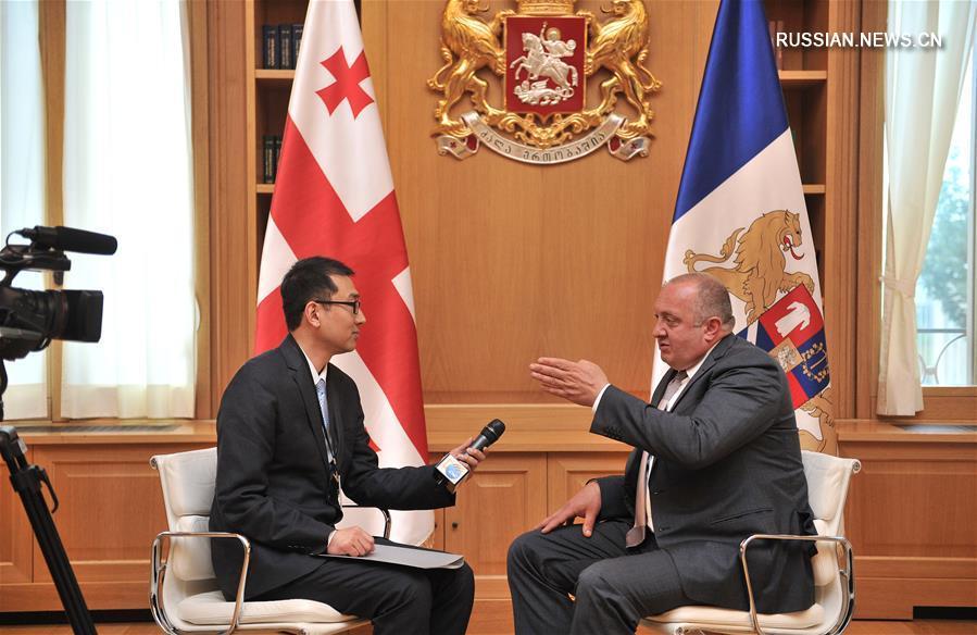 Эксклюзив: Сотрудничество Грузии с Китаем очень важно и полезно - президент