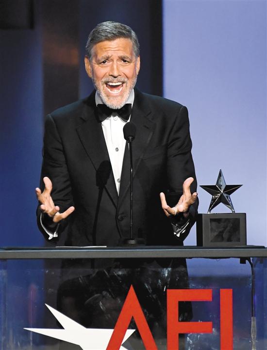 Джордж Клуни получил премию за прижизненные достижения