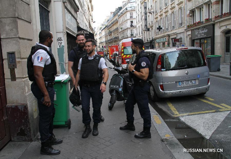 В Париже произошел захват заложников, оба заложника освобождены