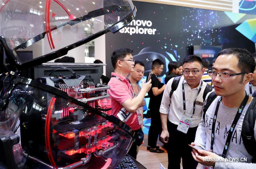 Азиатская международная выставка потребительской электроники-2018 открылась в Шанхае