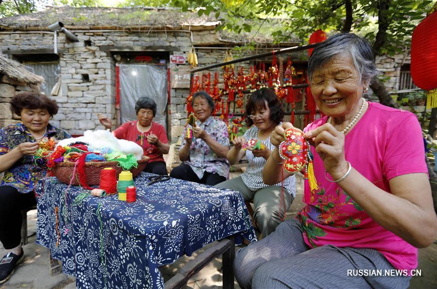 В Китае идет подготовка к празднику Дуаньу