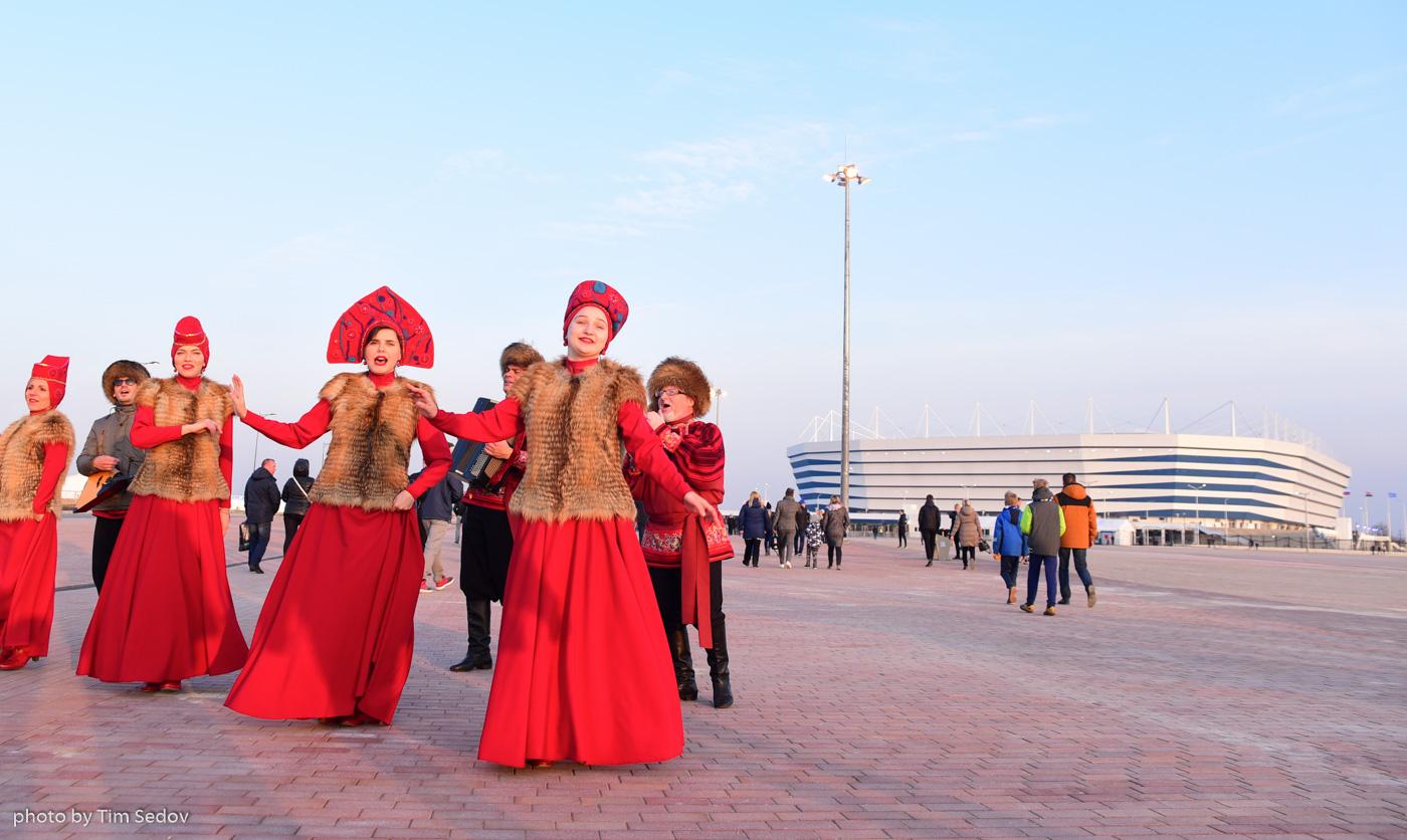 Мундиаль: от Калининграда и на восток