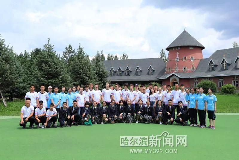 Китайско-российский союз средних школ открыл спортивный лагерь