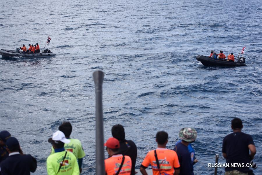 Посольство КНР в Таиланде подтвердило гибель 41 гражданина Китая при крушении судов у острова Пхукет