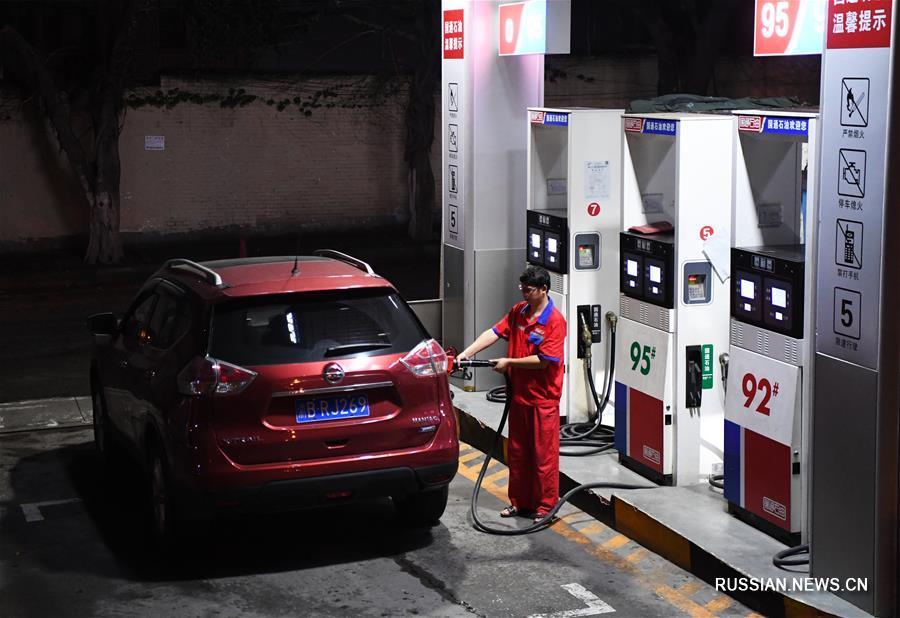 Китай производит самое значительное с начала года повышение цен на бензин и дизельное топливо