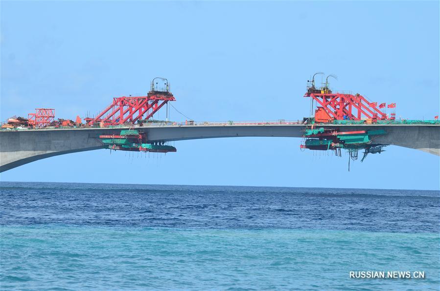Завершено смыкание Моста дружбы Китая и Мальдив