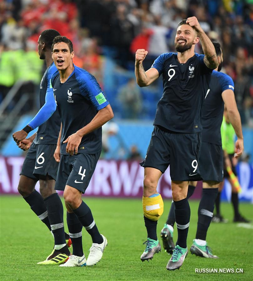 Сборная Франции вышла в финал чемпионата мира по футболу