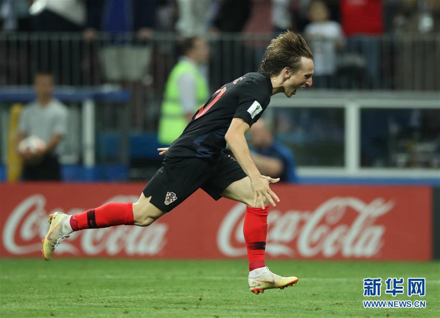 Сборная Хорватии вышла в финал чемпионата мира по футболу