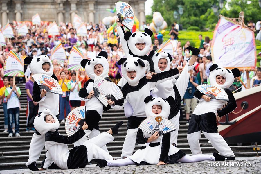 Церемония открытия Международного фестиваля танца в САР Аомэнь