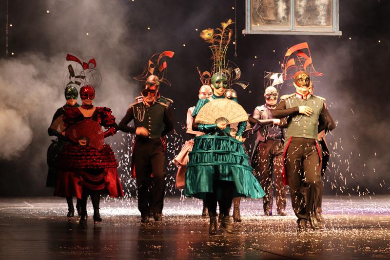 «Театр радости»: в Пекине прошел спектакль «Пиковая дама» по мотивам произведения А.С Пушкина