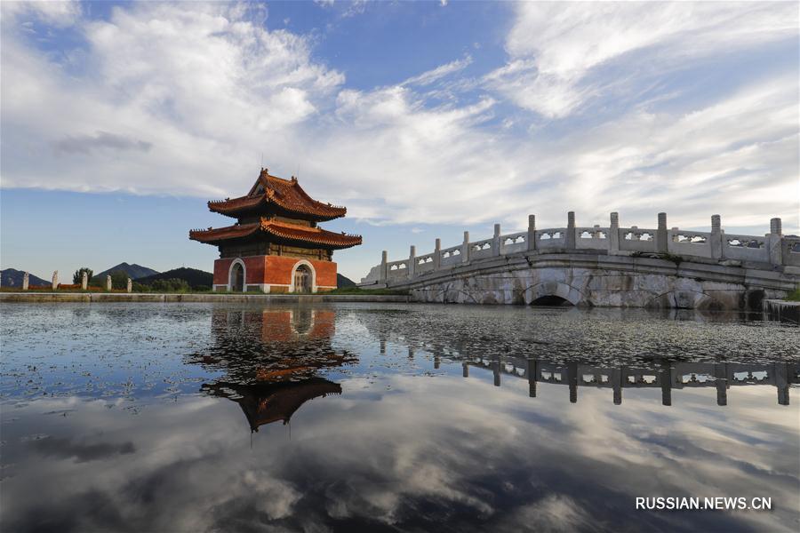 Отражение древности в дождевой воде