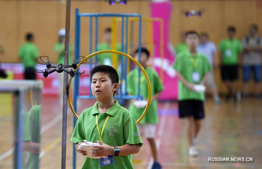 В Хайкоу проходит финал национального конкурса по авиа- и ракетомоделированию