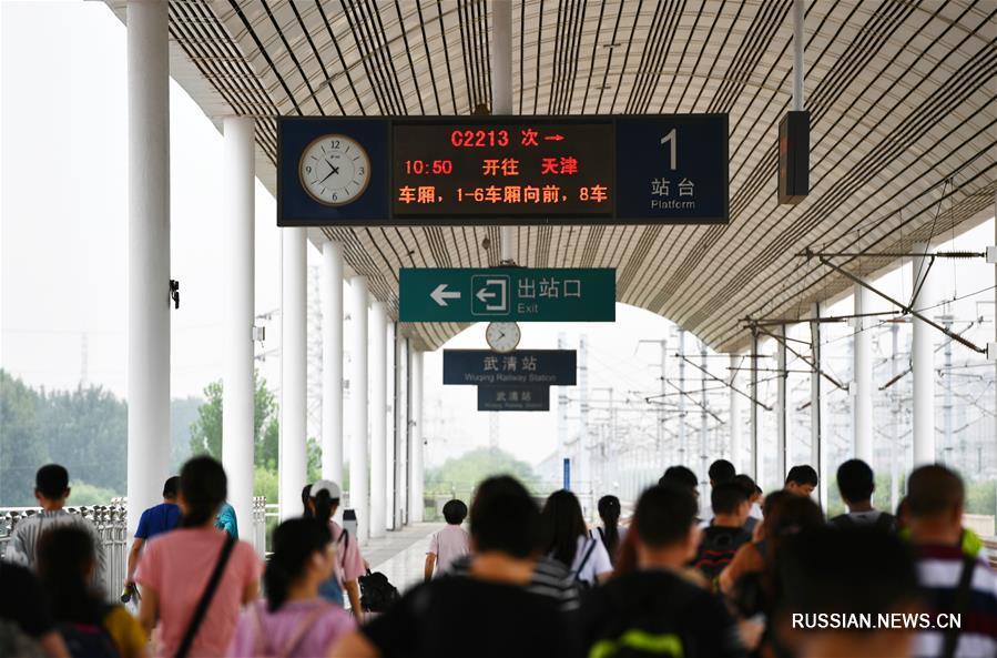 Ровно 10 лет назад открылось движение поездов на первой китайской ВСЖД