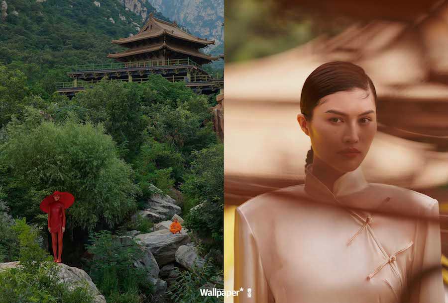 Новые фото супермодели Хэ Суй