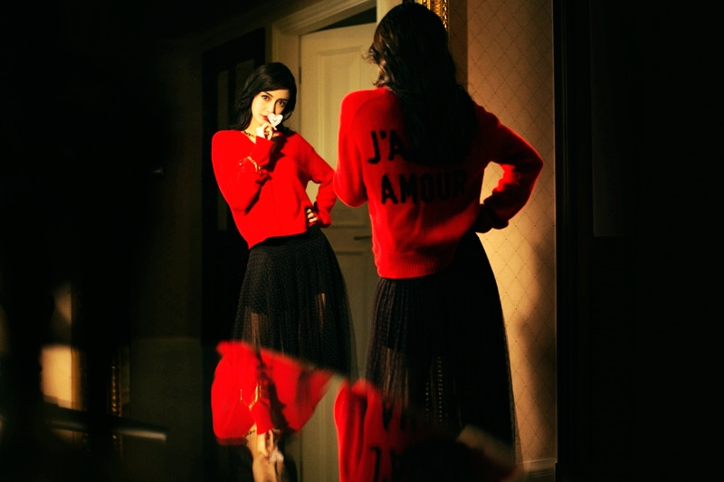 Angelababy в несезонных фото