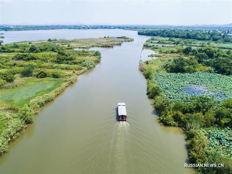 """Ландшафтные парки с """"нулыми выбросами"""" в уезде Дэцин"""