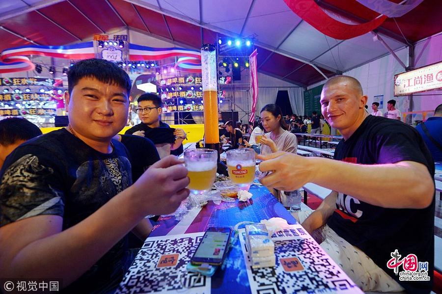 Резко растет объем реализации циндаоского пива в странах «Одного пояса и одного пути»