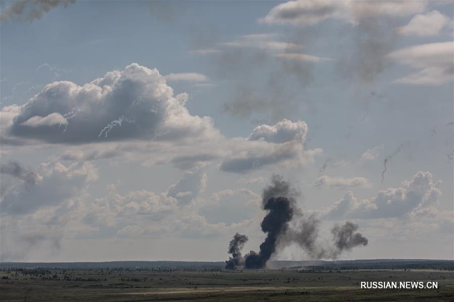 Совместные тактические учения стран-членов ШОС в Челябинской области