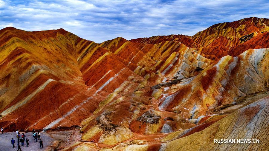 Геологический парк Данься: разноцветные холмы в Китае / Travel.ru ... | 506x900