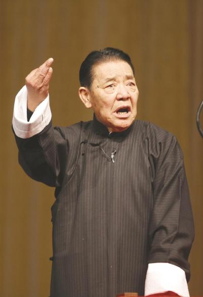 Знаменитый китайский рассказчик Шань Тяньфан скончался на 84-м году жизни