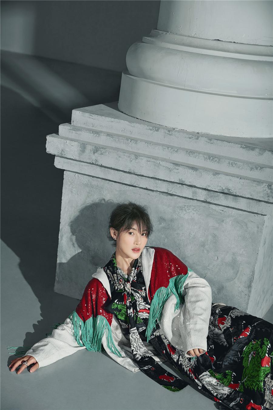 Стильная и модная красавица Чэнь Жань