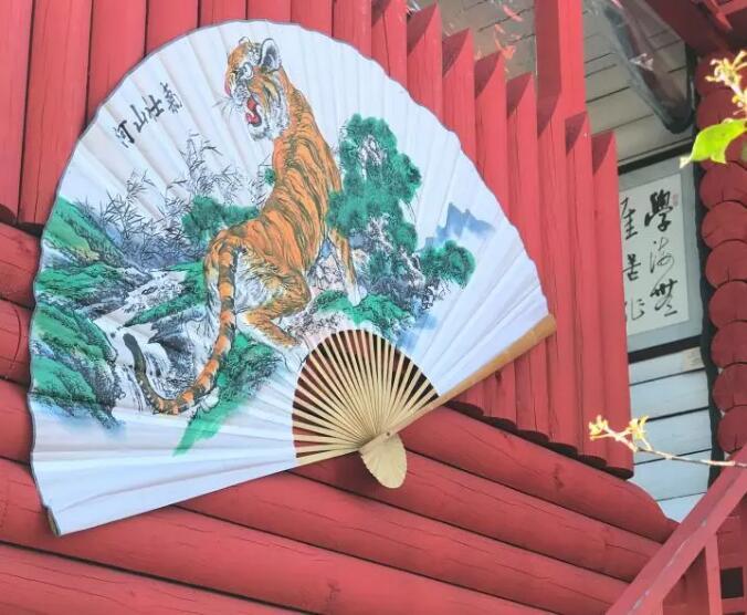 На экспозиции «Улица Дальнего Востока» появились элементы китайского стиля