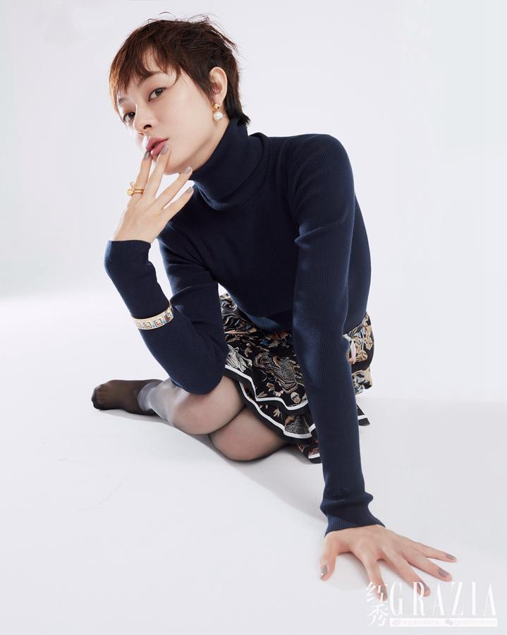 Модная фотосессия популярной артисты Сунь Ли