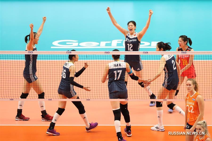 ЧМ по женскому волейболу: Китай завоевал бронзовую медаль