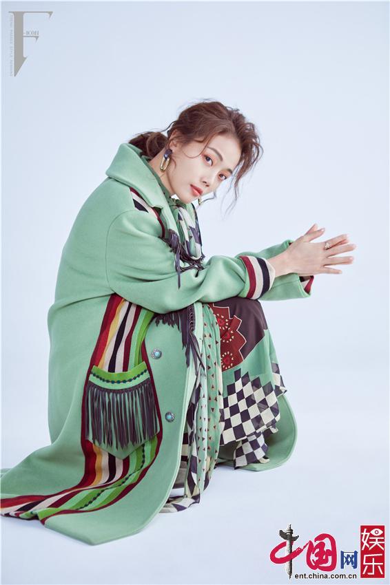 Красавица Жун Цзуэр на обложке журнала