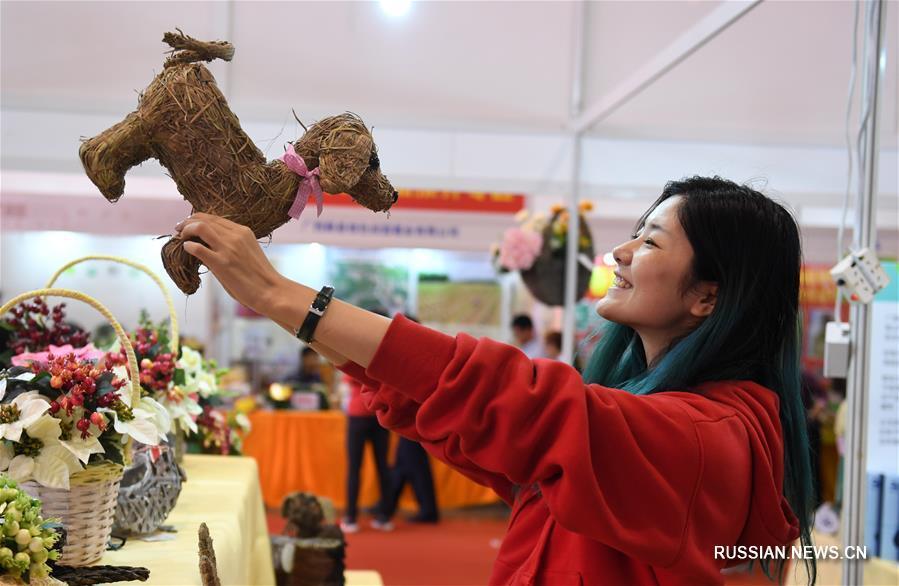 В Наньнинском международном центре конференций и выставок /Наньнин, Гуанси-Чжуанский автономный район, Южный Китай/ в эти дни проходит Гуансийская ярмарка товаров 2018 года.