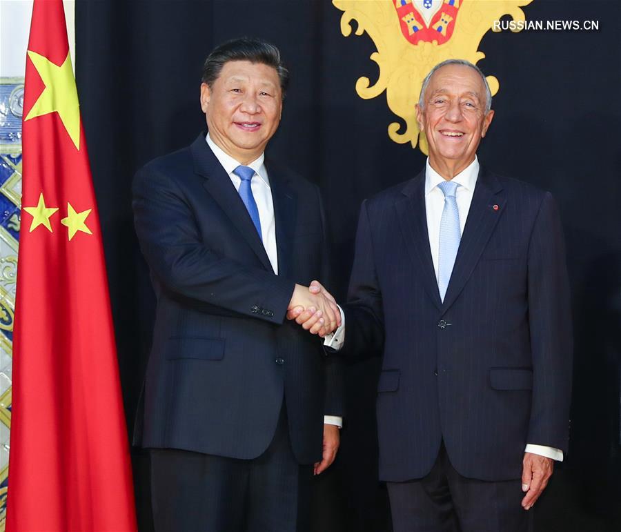 Си Цзиньпин провел переговоры с президентом Португалии