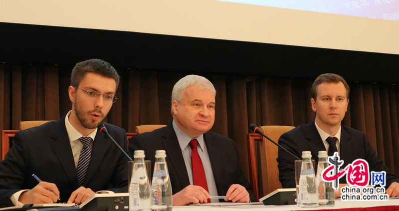 Посол России в Китае А. Денисов высоко оценивает достигнутый Китаем прогресс за 40 лет проведения реформ и открытости