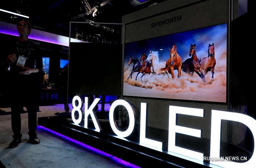 Китайские хай-тек-компании представили свои новейшие разработки на открывшейся 8 января в Лас-Вегасе выставка потребительской электроники CES-2019.