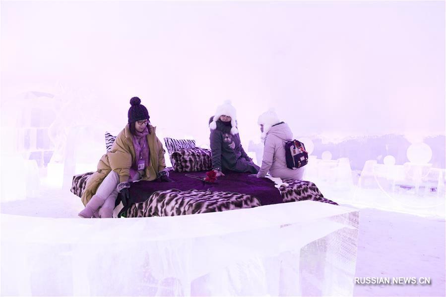 Ледяные развлечения в Харбине